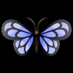 蝶々(ちょうちょ)のイラスト素材