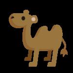 駱駝(らくだ)のイラスト素材