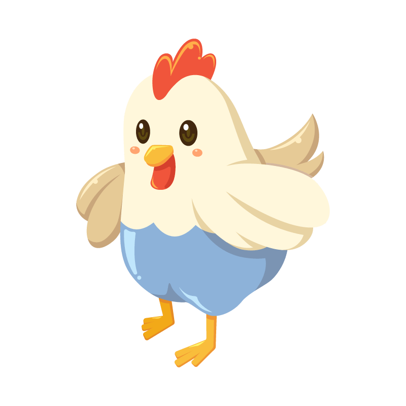 鶏にわとりニワトリのイラスト素材 商用可能な無料フリーの