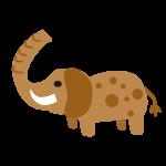 象(ぞう)のイラスト素材