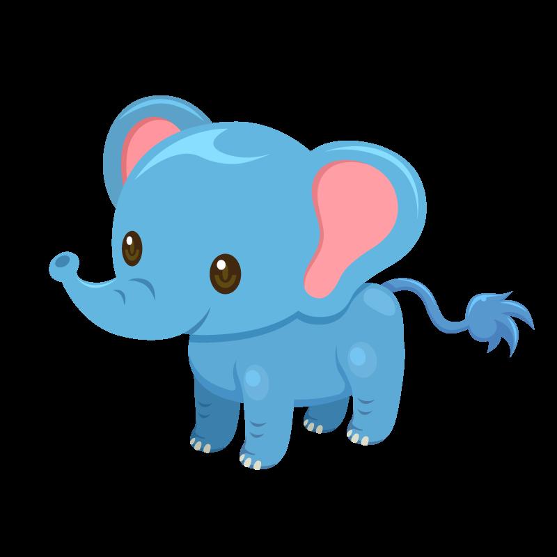象ぞうゾウのイラスト素材 商用可能な無料フリーのイラスト素材
