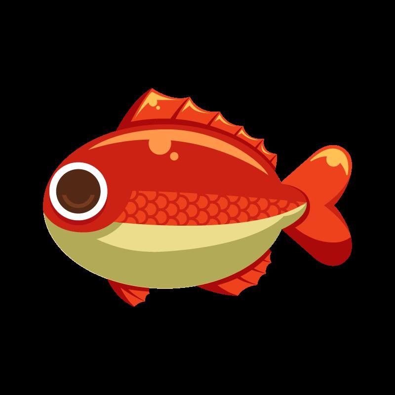 海の生き物シリーズお魚編鯛タイのイラスト素材 商用可能な無料
