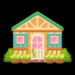 カフェ(家/建物)のイラスト素材
