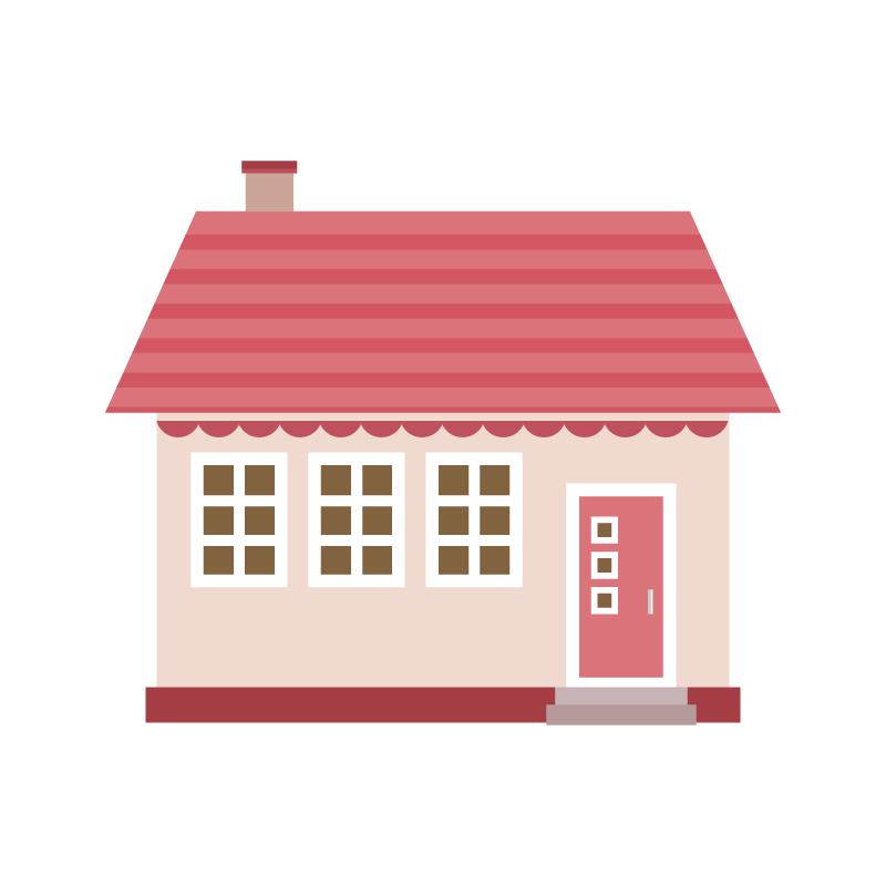 家ホームのイラスト素材 商用可能な無料フリーのイラスト素材