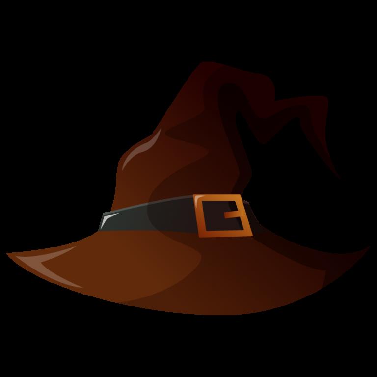 ハロウィンハット(帽子)のイラスト素材