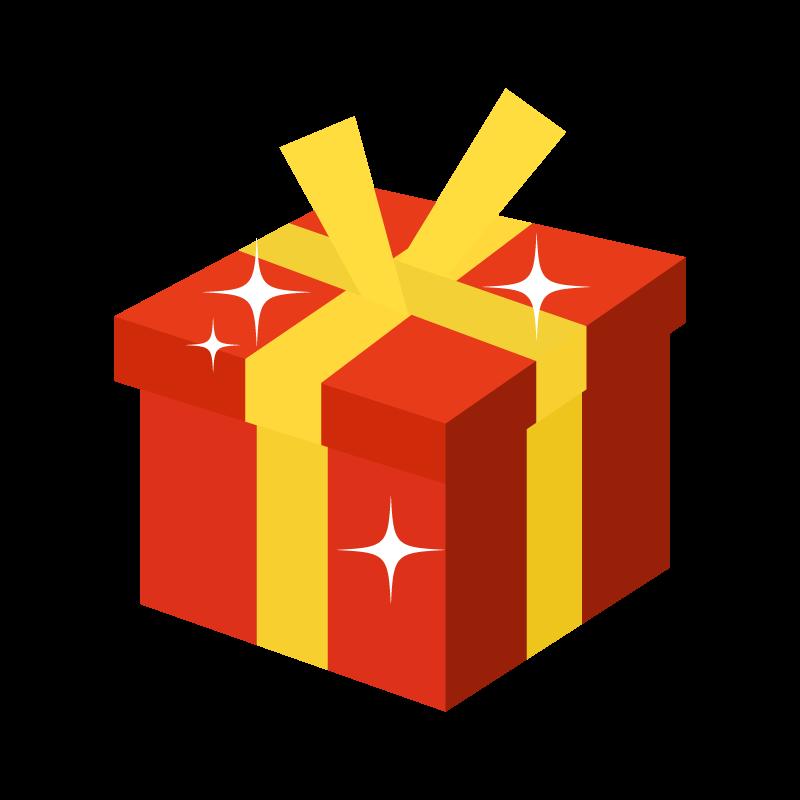 プレゼントボックスのイラスト素材 商用可能な無料フリーのイラスト
