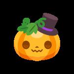 ハロウィンカボチャ/かぼちゃ(パンプキン)のイラスト素材