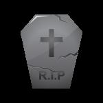 ハロウィン墓地のイラスト素材