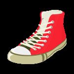 靴(シューズ・スニーカー)のイラスト素材