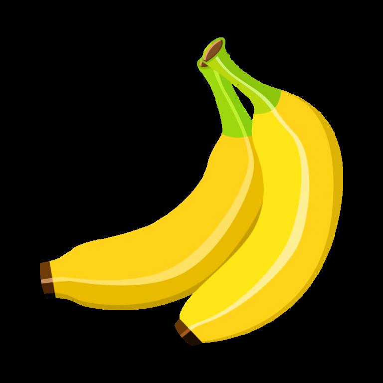 バナナのイラスト素材