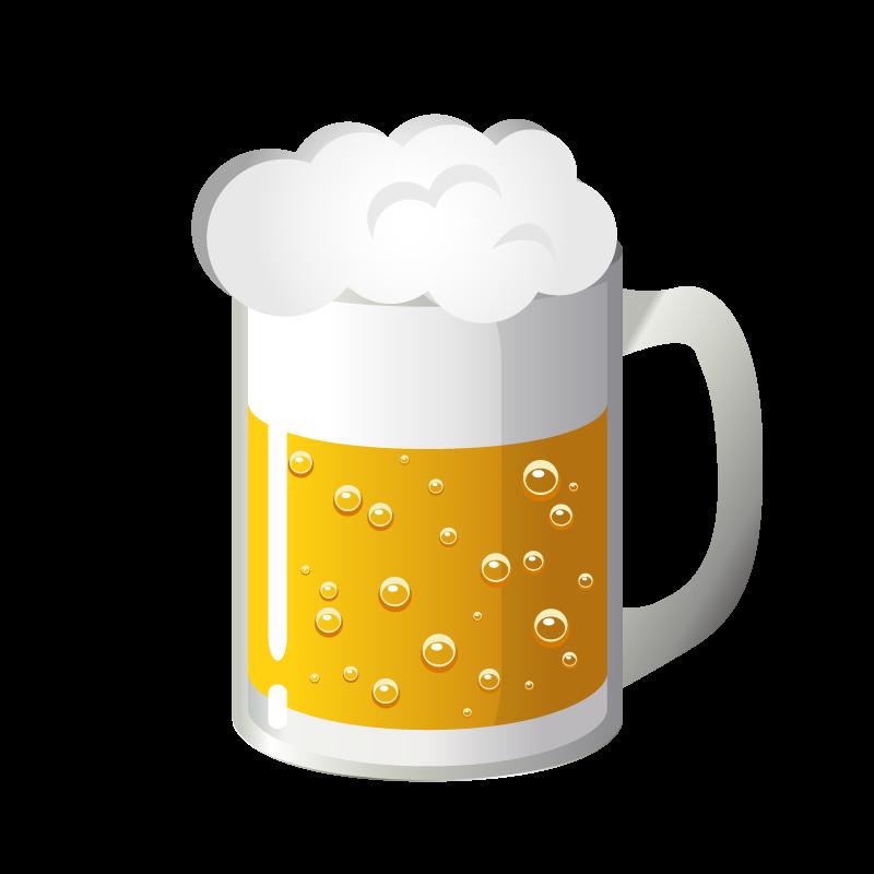 生ビールアルコール酒のイラスト素材 商用可能な無料フリーの