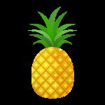 パイナップル(パイン)のイラスト素材
