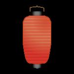 赤提灯(ちょうちん)のイラスト素材