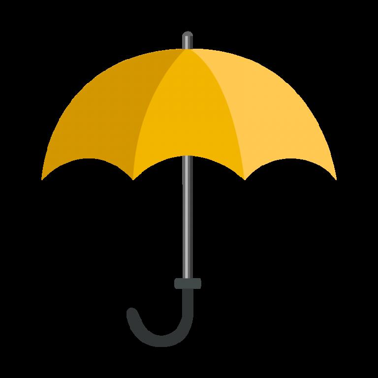 雨傘(かさ)のイラスト素材
