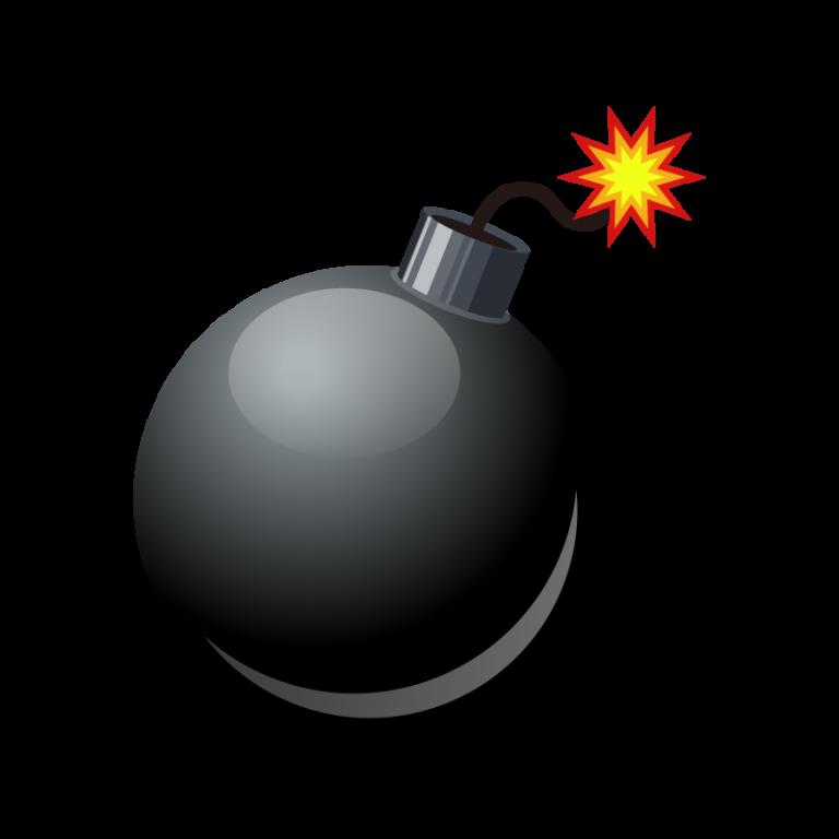 爆弾のイラスト素材