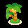 椰子の木(ヤシの木/やしの木)のイラスト素材