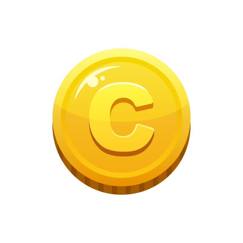 コインお金メダル硬貨のイラスト素材 商用可能な無料フリーの