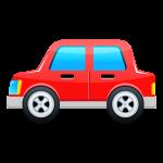 赤い車のイラスト素材