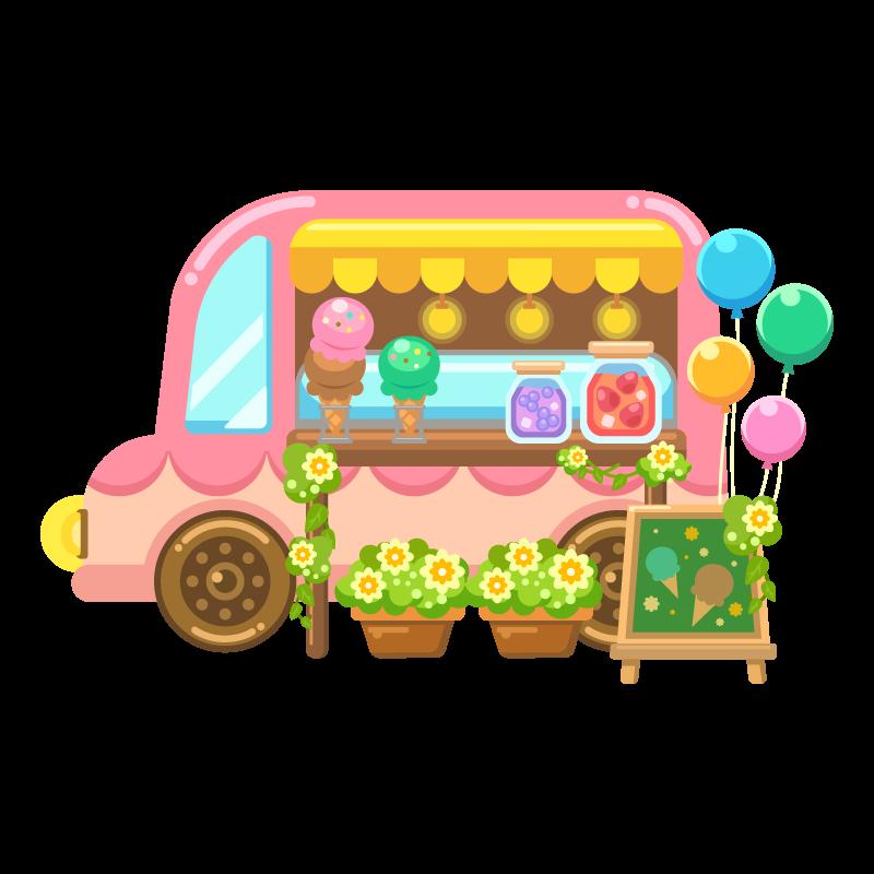 アイスクリーム移動販売車ケータリングカーキッチンカーフード