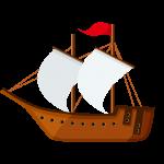 船(ふね)のイラスト素材